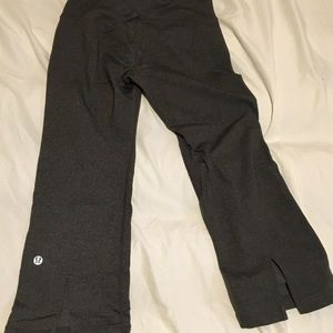 Lululemon crop leggings size 4!!